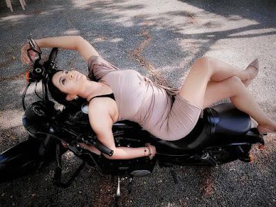 Pooja Joshi ad shoot