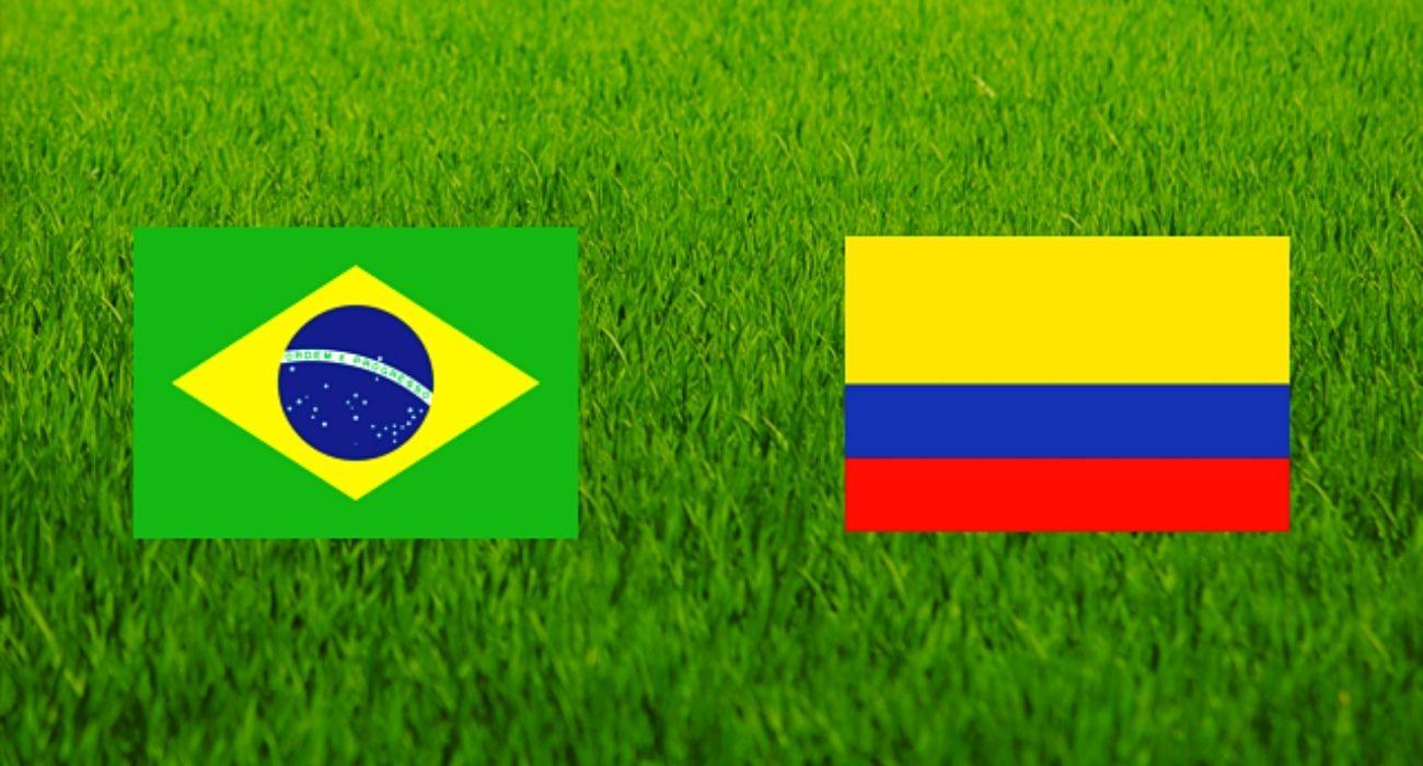 مشاهدة مباراة البرازيل وكولمبيا اليوم