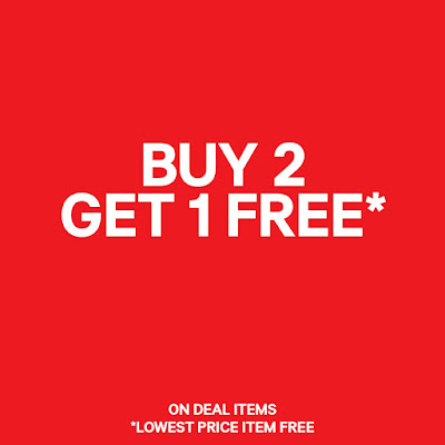 H&M Malaysia Store Buy 2 Free 1 Promo