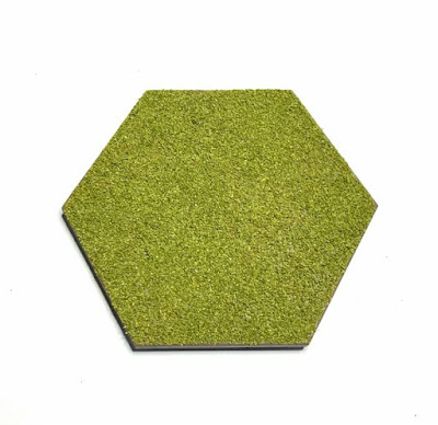 Pack of 50 x Terrain Hex Tiles
