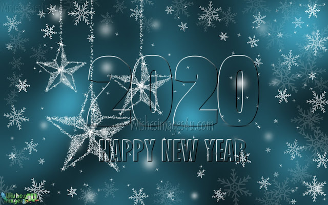 New Year 2020 Full HD Photos With Sparkling Background  Download Free