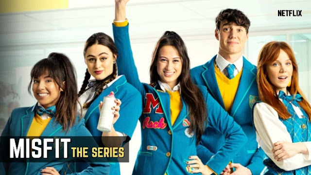 Netflix Misfit The Series Trailer