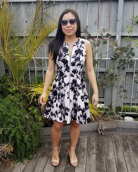 OOTD: Apt 9 Floral Dress