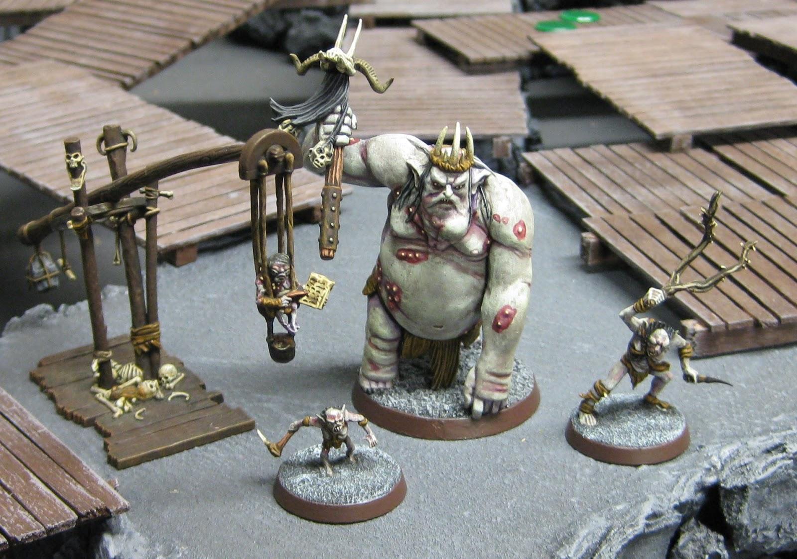 Scott's War-gaming: The Goblin King's domain