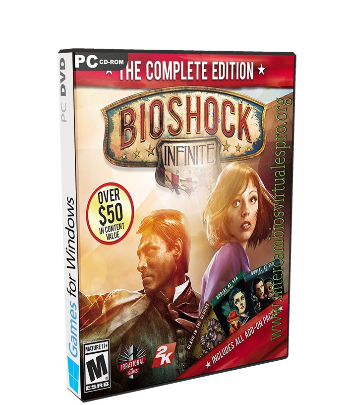 BioShock Infinite Complete Edition poster box cover