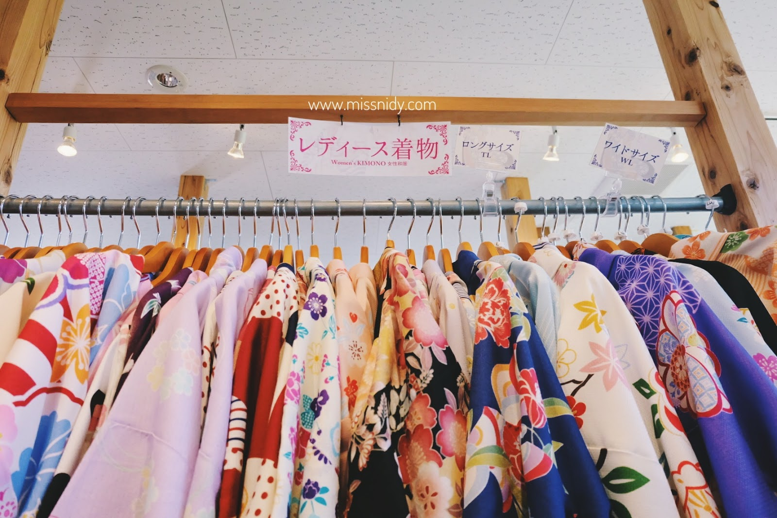 pengalaman sewa kimono di kyoto