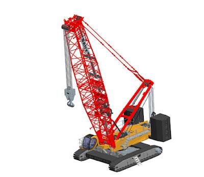 United Tractors, Distributor Terpercaya Jual Crawler Crane