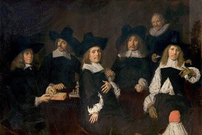 Frans Hals - Portrait de groupe des régents de l'hospice de Haarlem,1641.