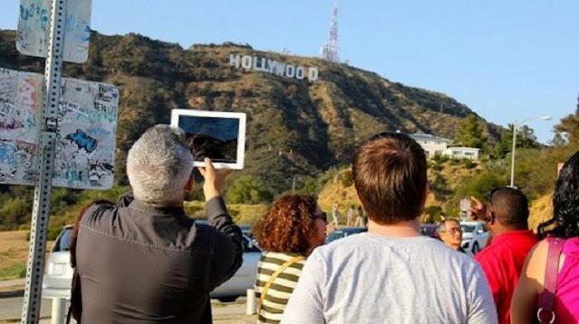 Movimentação de turistas no mês de abril em Los Angeles