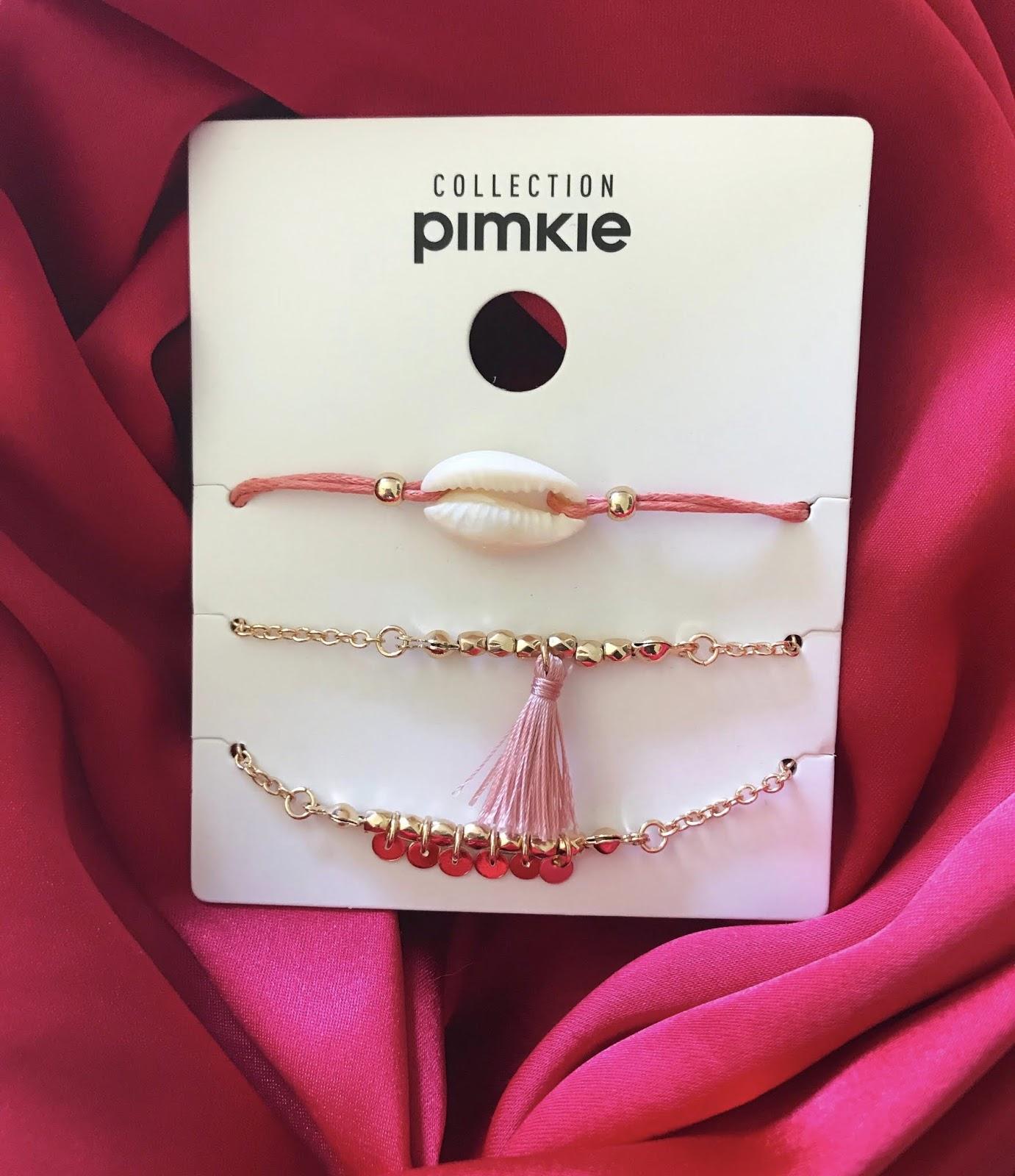lots 3 bracelets Pimkie