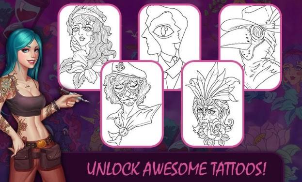 Aplikasi edit foto Tattoo Master