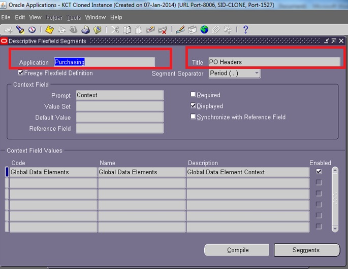 Create Dff In Oracle Apps