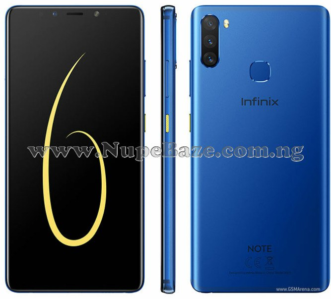Infinix Note 6 Full Specs, Features And Price In Nigeria
