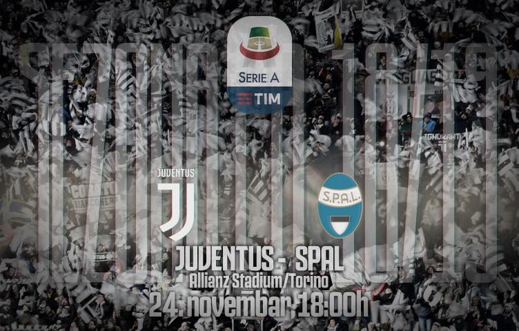 Serie A 2018/19 / 13. kolo / Juventus - SPAL, subota, 18:00h