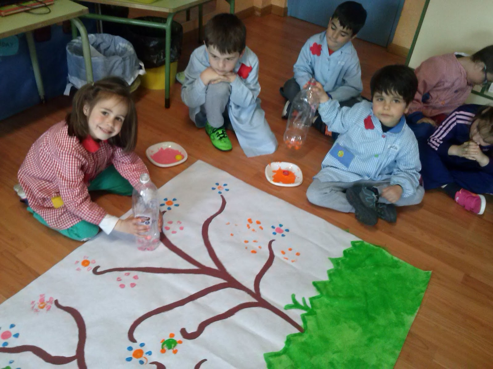 Raquel infantil decoraci n de primavera for Decoracion primavera infantil