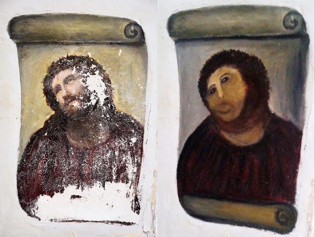 Another botched art restoration in Spain draws outrage