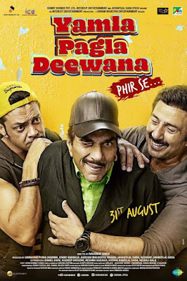 Yamla Pagla Deewana Phr Se 2018 Hindi 480p HDRip 400Mb x264