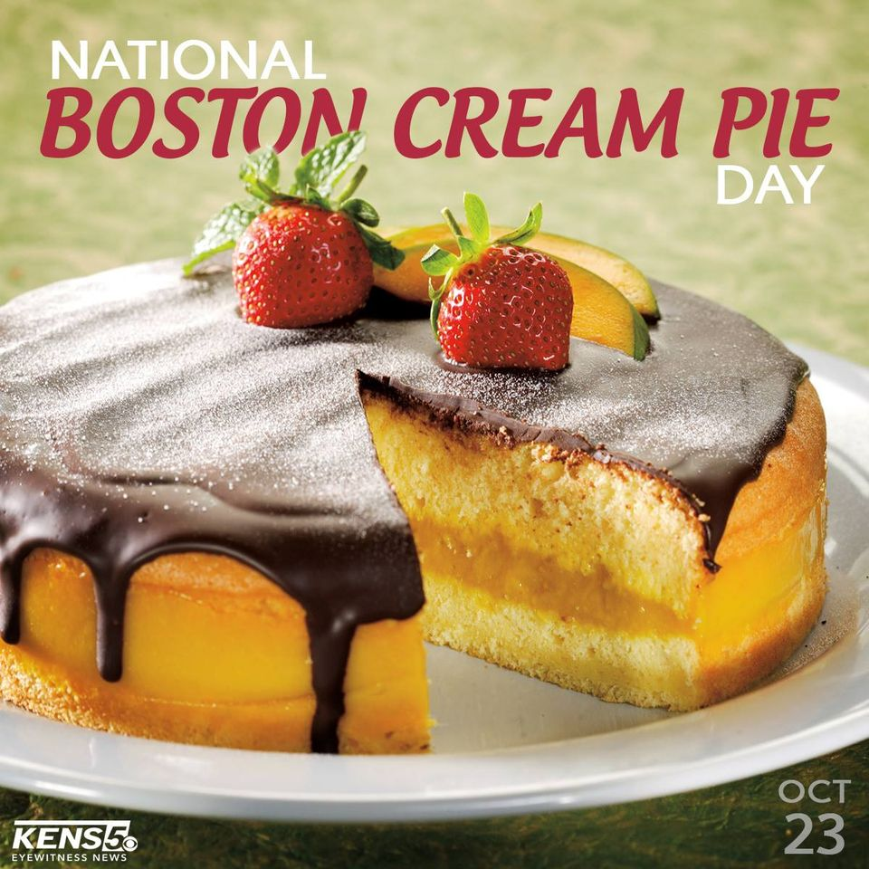 National Boston Cream Pie Day Wishes Photos