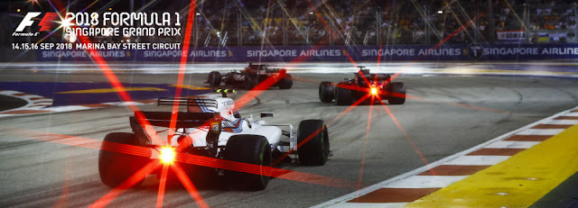 Salika Travel - Early Bird! Singapore F1 GP 2018 - Tickets & Hotels