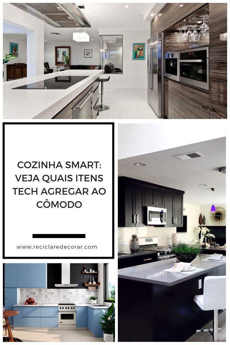 Cozinha smart: veja quais itens tech agregar ao cômodo