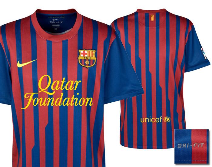 587a3f3dd8fca Camisaria Futebol Clube  Novas camisas do Barcelona (2011 2012)