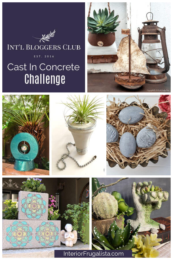 International Bloggers Club Cast In Concrete Challenge 2021