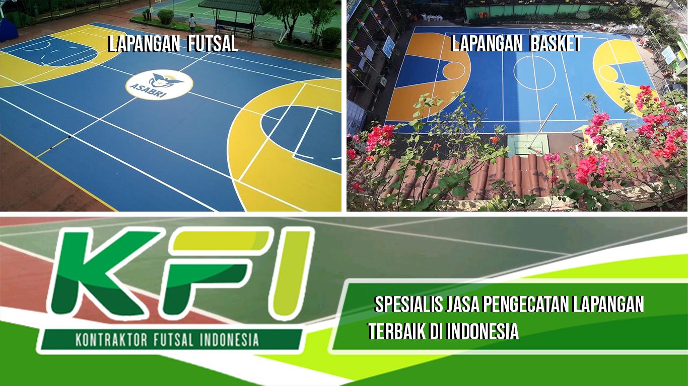 Spesialis Jasa Pengecatan Lapangan Terbaik Di Indonesia