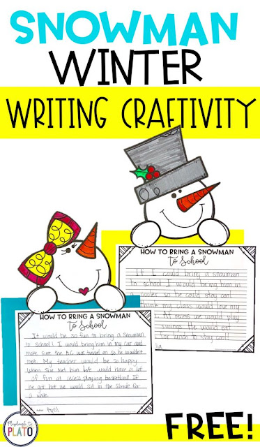 Snowman Writing Prompts & Craft