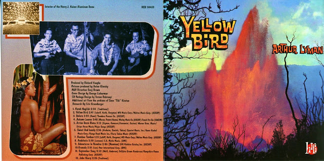 Arthur Lyman - Yellow Bird Graphic