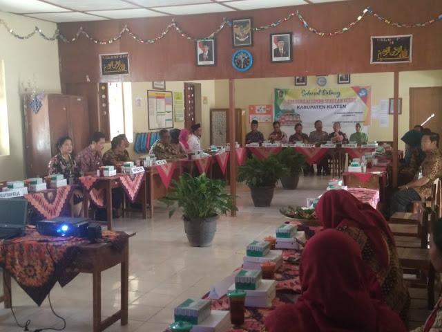 Danramil Manisrenggo Saksikan Lomba Sekolah Sehat Tingkat SD Negeri Nansri