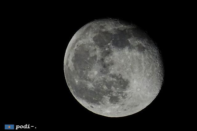 Luna del 25 marzo 2016