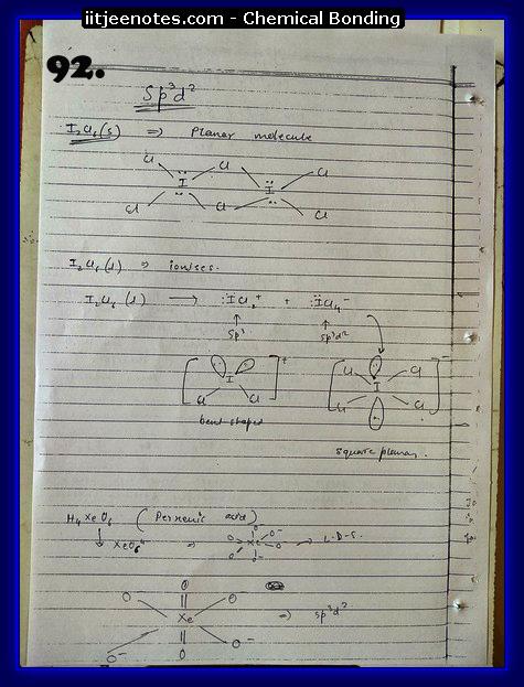 Chemical-Bonding Notes chemistry20