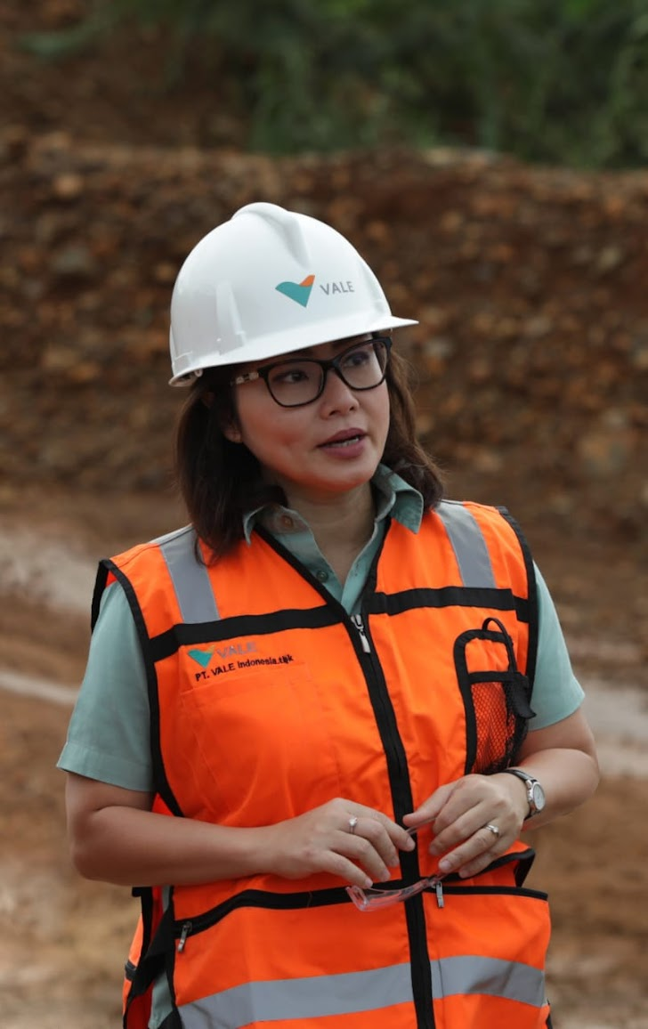 Deputi CEO PT Vale Raih Penghargaan Asia's Top Sustainability Superwomen