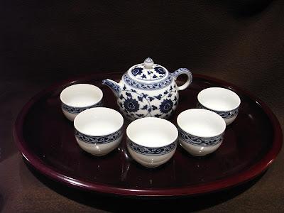 景徳鎮 汪淑珍 中国茶器セット