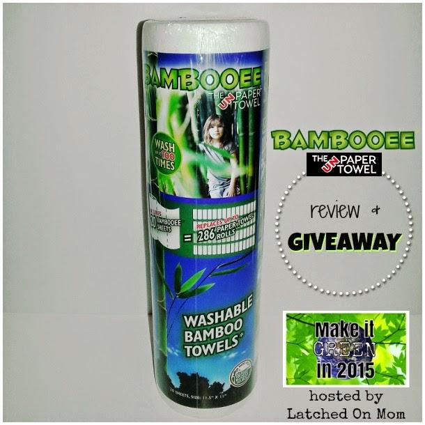 Bamboo Unpaper Towel Giveaway | www.mommyandlove.com