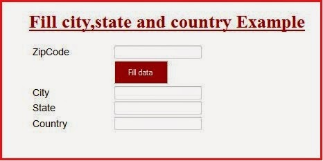 Asp net: Get city, state and country based on zip code using Google