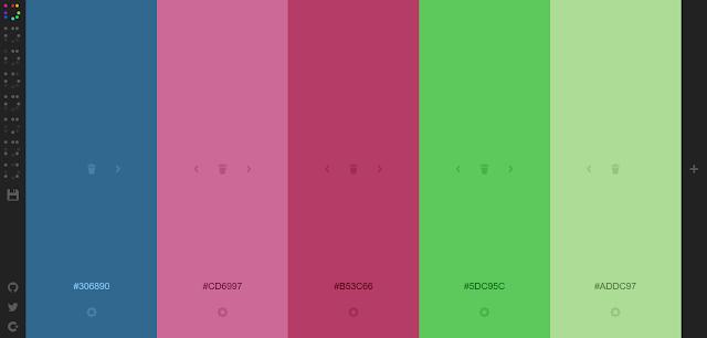 5. Colourcode - Mencari Warna Hanya Dengan Menggeser Mouse