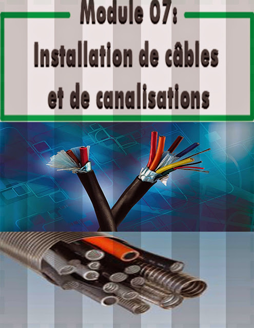 Installation de câbles et de canalisations