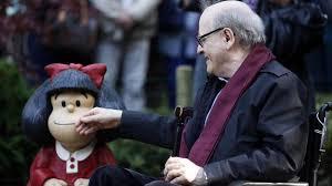 """Falleció """"Quino"""" el creador de Mafalda; la niña sabia y respondona"""