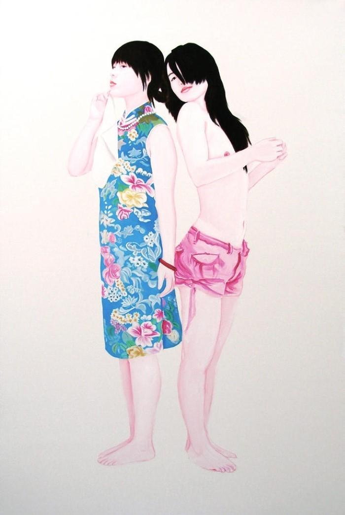 В минималистском стиле. Frederic Leglise