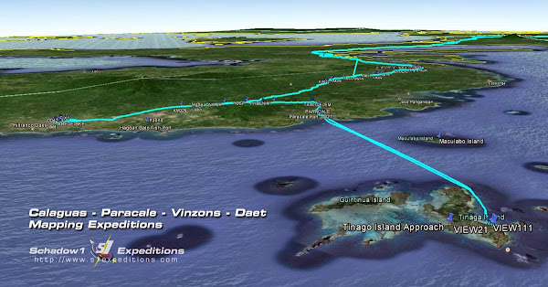 Calaguas Paracale Vinzons Daet Mapping Expedition - Schadow1 Expeditions