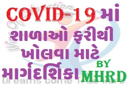 SOP Guidelines for Reopening of Schools In COVID-19 By MHRD-www.wingofeducation.com