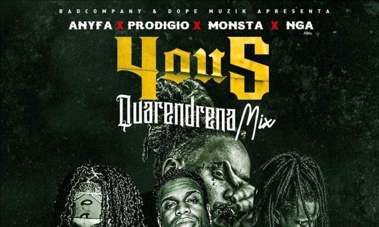Anyfa feat. Prodígio & Nga, Monsta - 4 ou 5 Quarendrena Mix (Afro Trap)