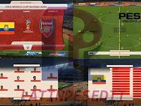 PES 2018 De Rusia 2018 Scoreboard