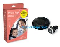 Logo Con Pampers puoi vincere un Dispositivo Antiabbandono Baby Bell