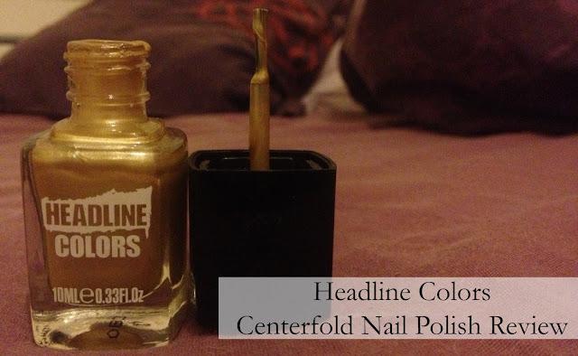 Headline Colors Centrefold Nail Polish
