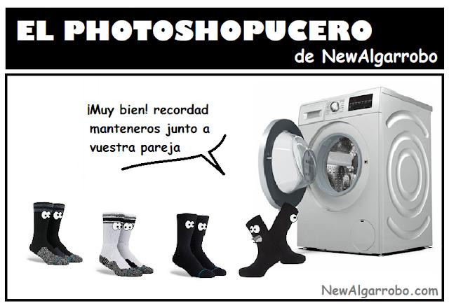 memes calcetines, chistes lavadora