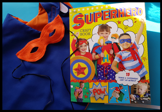 Superhero craft book to help kit out any budding superhero