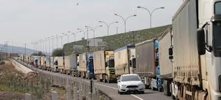 53 شاحنة مساعدات أممية تعبر تركيا باتجاه إدلب