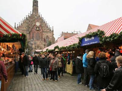 Christmas market in Nürnberger